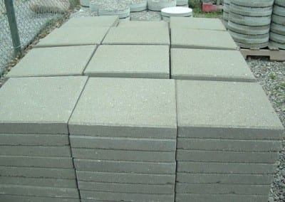 Square Concrete Stepping Stones