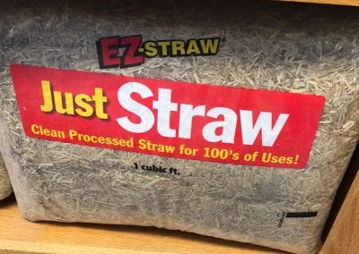 just straw